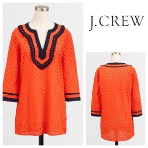 🆕🎁 J. Crew Eyelet Tunic Top Coverup NWT